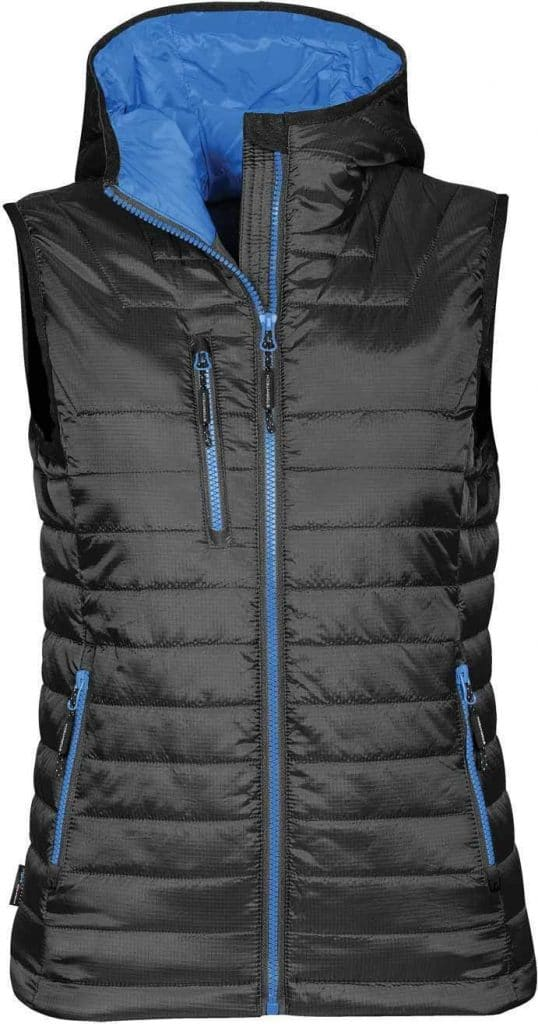 WTSTPFV-2W - Marine Blue & Black - WorkwearToronto.com - Women's Gravity Thermal Vest