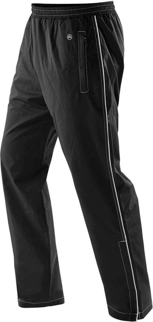 WTSTSTXP-2 - Black - WorkwearToronto.com - Men's Training Pants With Custom Logo