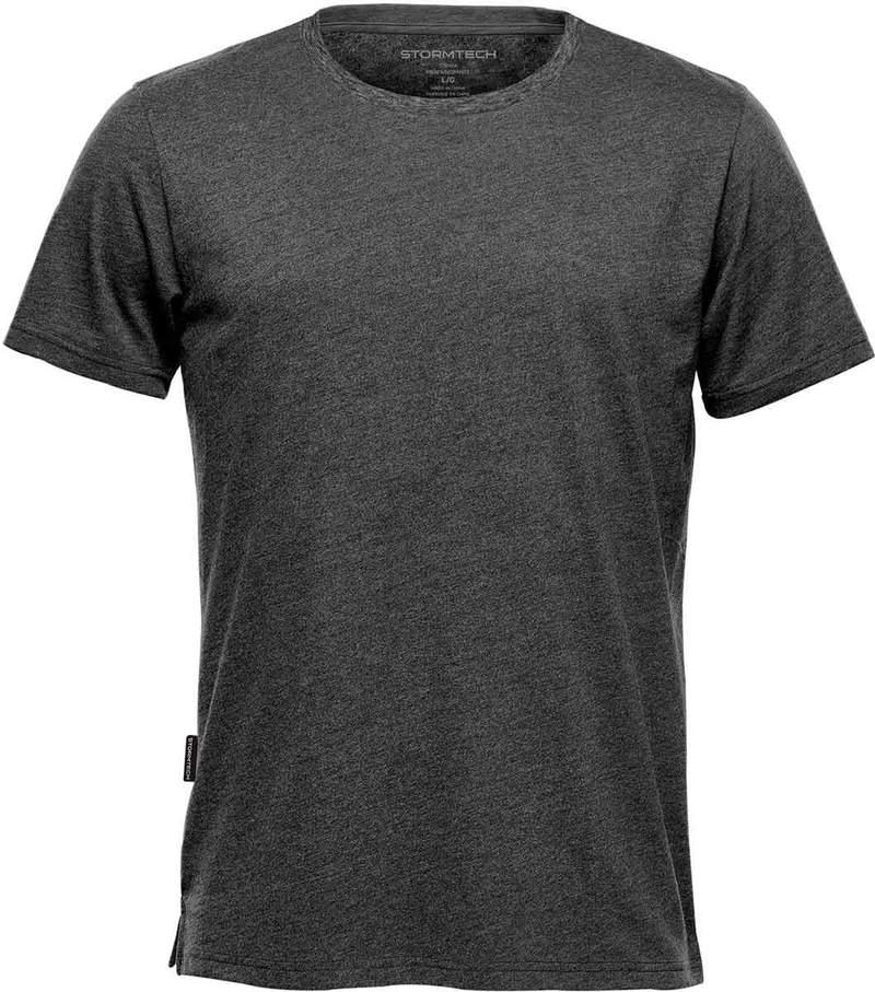 WTSTTG-1 - Graphite Heather - WorkwearToronto.com - Men's Crew Neck T-Shirts
