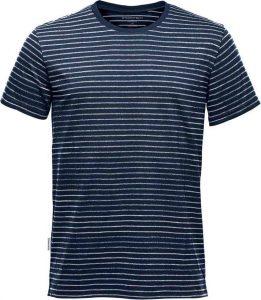 WTSTTG-2 - Navy White - WorkwearToronto.com - Men's Custom Decorated T-Shirts