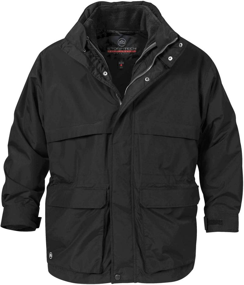 WTSTTPX-2 - Black - WorkwearToronto.com - Men's 3-in-1 System Jackets