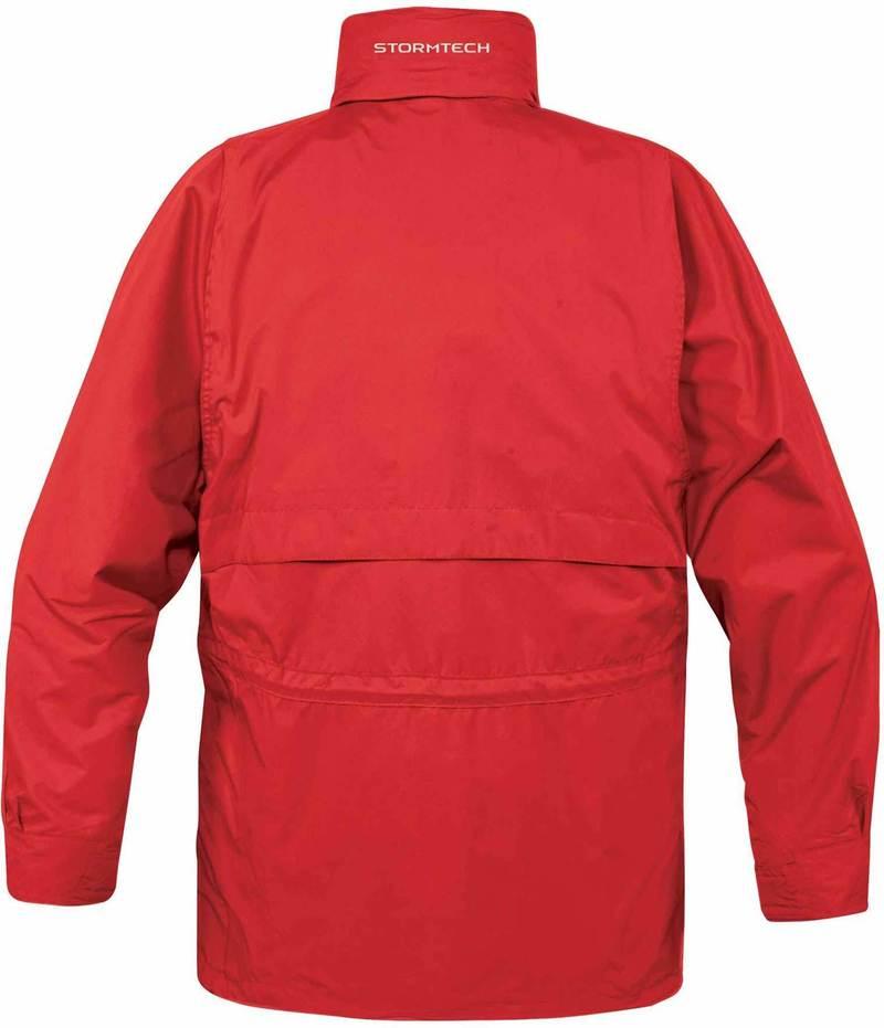WTSTTPX-2 - Stadium Red - Black - WorkwearToronto.com - Men's 3-in-1 system Jackets