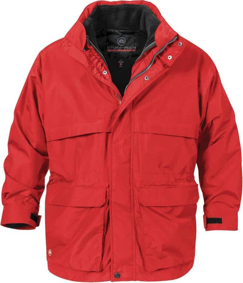 WTSTTPX-2 - Stadium Red - WorkwearToronto.com - Men's 3-in-1 system Jackets - Front