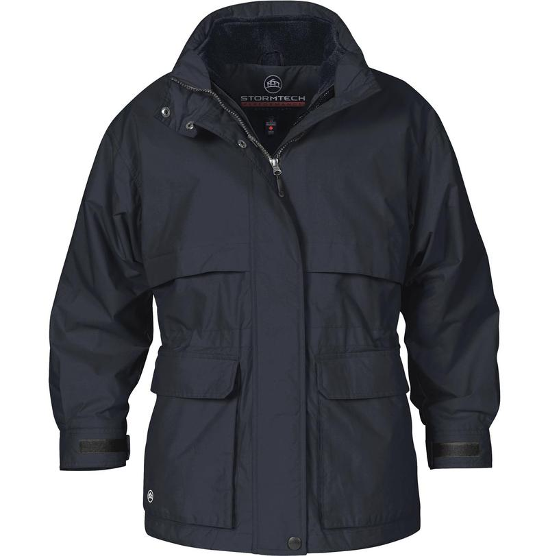 WTSTTPX-2W - Navy - WorkwearToronto.com - Women's 3-in-1 System jacket