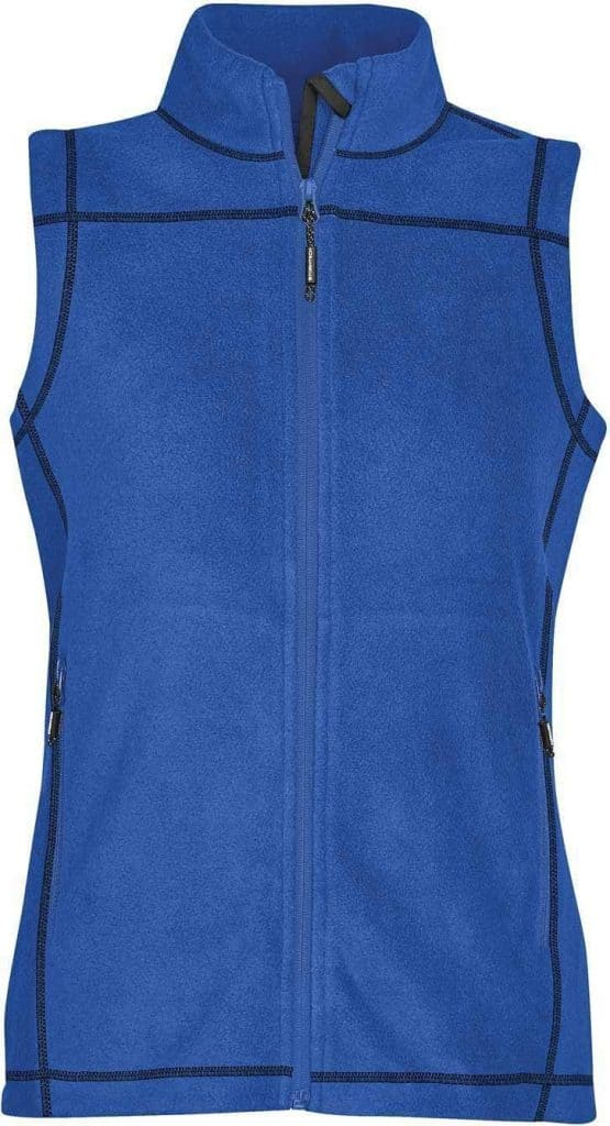 WTSTVX-4W - Azure Blue - WorkwearToronto.com - Woman's Reactor Fleece Vest