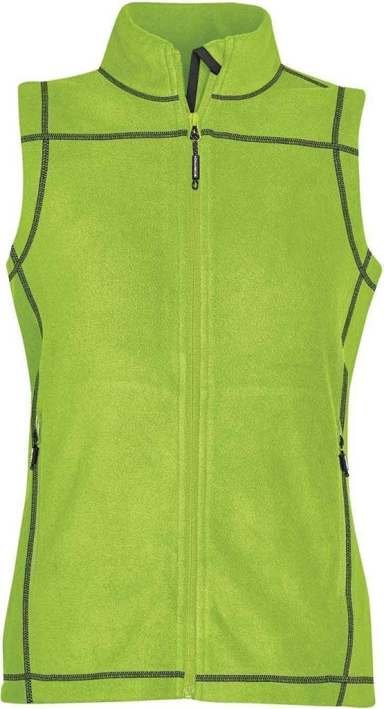 WTSTVX-4W - Kiwi - WorkwearToronto.com - Woman's Reactor Fleece Vest
