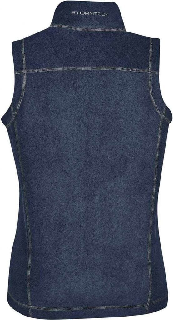 WTSTVX-4W - Navy, Granite & Black - WorkwearToronto.com - Woman's Reactor Fleece Vest