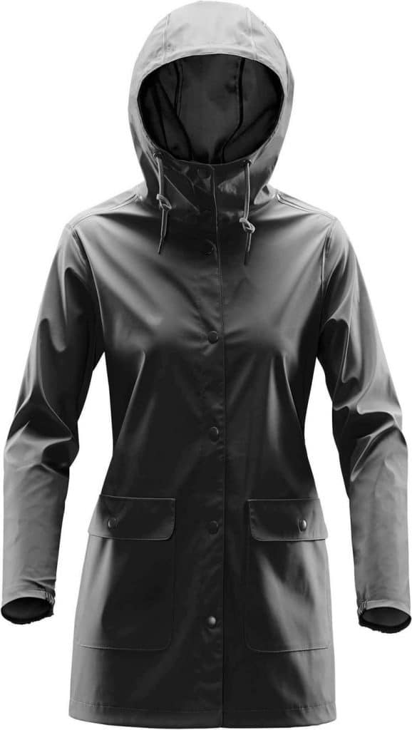 WTSTWRB-1W - Black - WorkwearToronto.com - Women's Rain Jackets - Rain Shells - Custom Clothing Embroidery and Heat Press