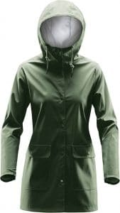 WTSTWRB-1W - Earth - WorkwearToronto.com - Women's Rain Jackets - Rain Jacket Shells - Side - Custom Clothing Embroidery and Heat Press