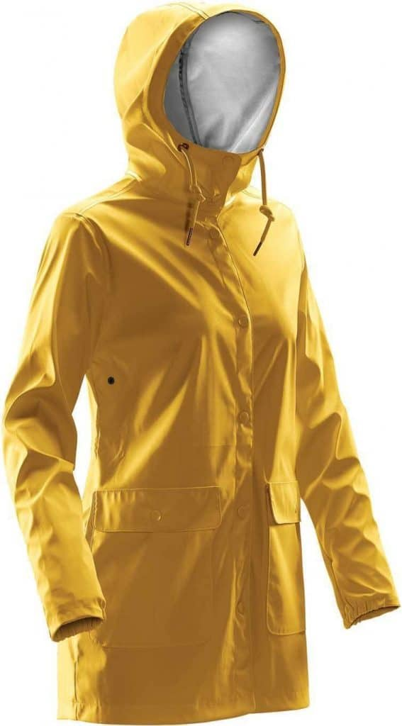 WTSTWRB-1W - Gold - WorkwearToronto.com - Women's Rain Jackets - Rain Jacket Shells - Side