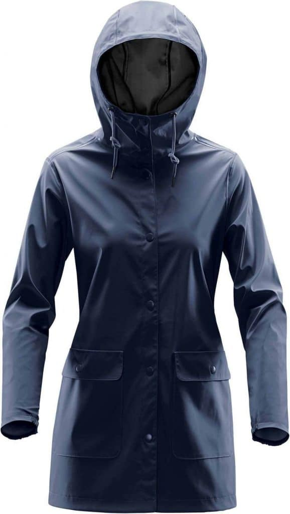 WTSTWRB-1W - Navy - WorkwearToronto.com - Women's Rain Jackets - Rain Shells