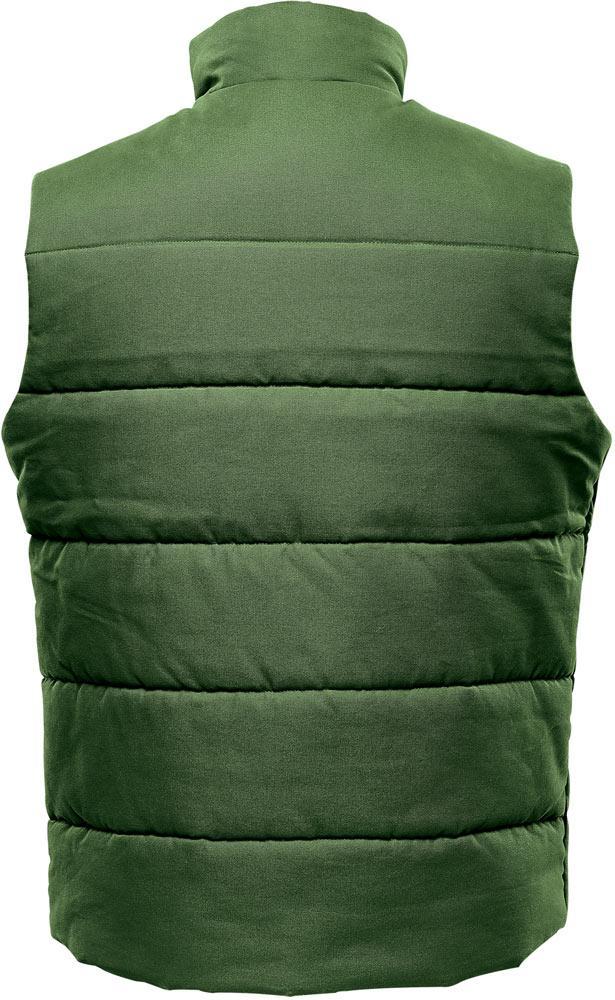 WTSTWXV-1 - Earth Green - WorkwearToronto.com - Men's Hamilton HD Thermal Vest - Back