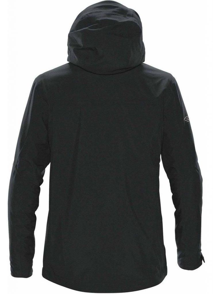 WTSTXB-4 Black-Bright Red - WorkwearToronto.com - Men's Matrix System jacket - Back