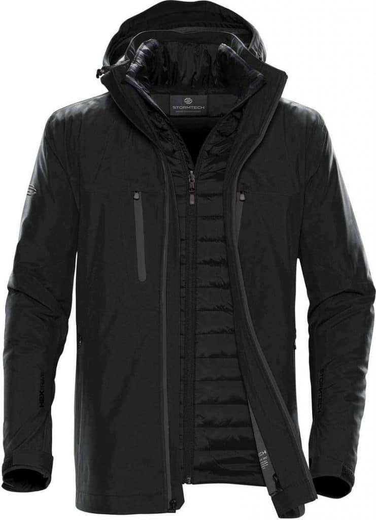 WTSTXB-4 Black-Carbon - WorkwearToronto.com - Men's Matrix System jacket