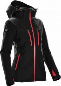 WTSTXB-4W - Black Bright Red - WorkwearToronto.com - Women's Matrix System jacket