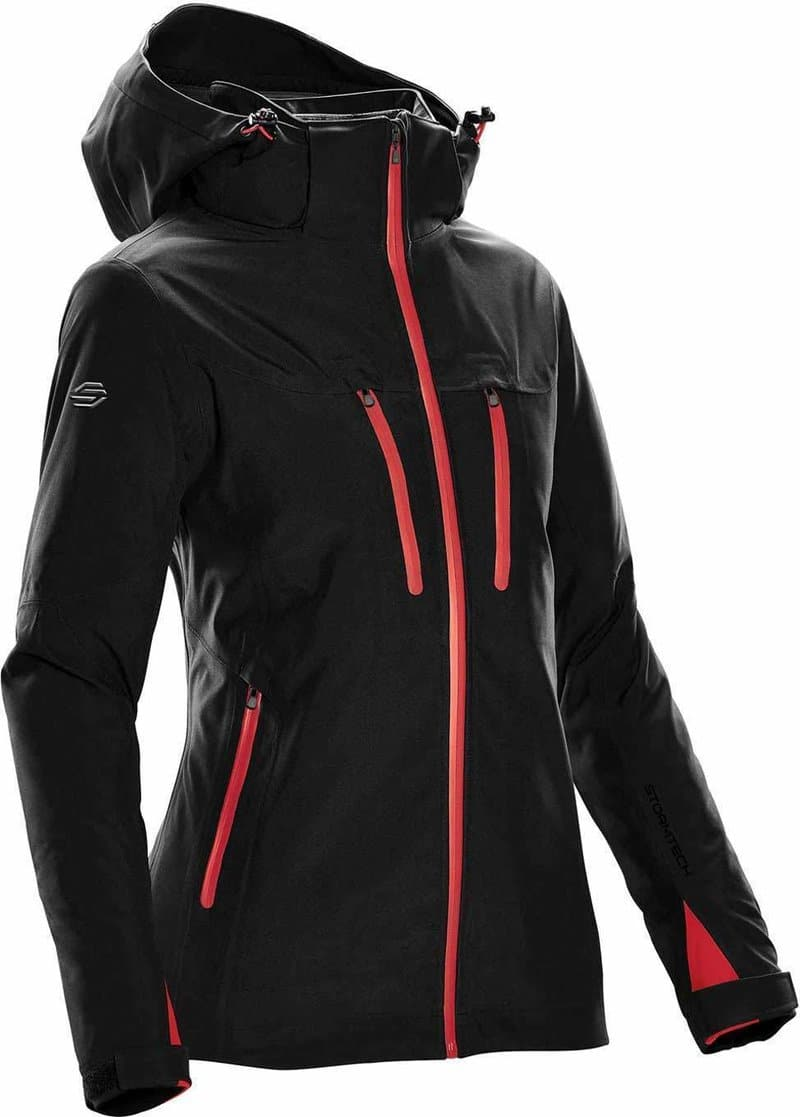 WTSTXB-4W - Black Bright Red - WorkwearToronto.com - Women's Matrix System jacket