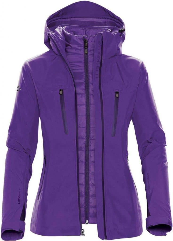 WTSTXB-4W - Violet - WorkwearToronto.com - Women's Matrix System jacket