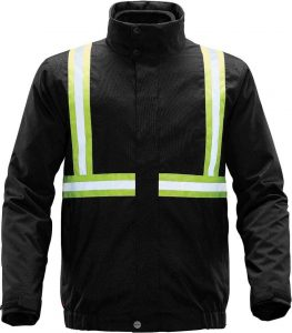 WTSTXLT-4R - Black - WorkwearToronto.com - Hi-Vis Reflective Jackets for men & Women