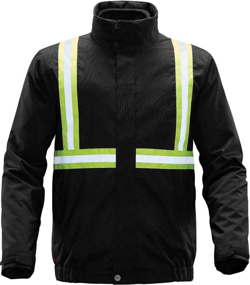 WTSTXLT-4R - Black - WorkwearToronto.com - Hi-Vis Reflective Jackets for men & Women