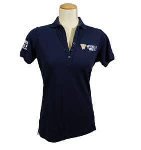 Custom Women's Workwear - Workwear Toronto - Polo - Navy Blue - Embroider - WorkwearToronto.com - Your Logo - Corporate Apparel - Promotional Products