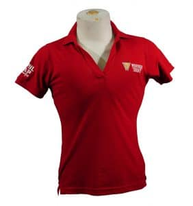 Custom Women's Workwear - Workwear Toronto - Polo - Red - Embroider - Workwear Toronto.com - Your Logo - Corporate apparel in GTA - Promotional Products - Heat Transfer