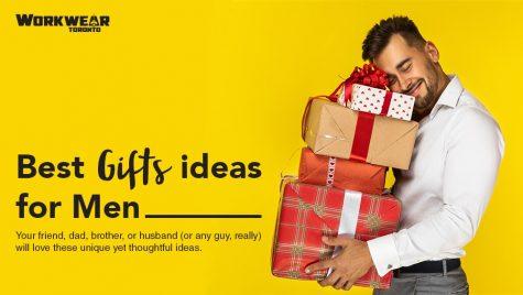 Best Christmas Gift Ideas For Him - Gift Ideas For Men - Workwear Toronto - Christmas 2020