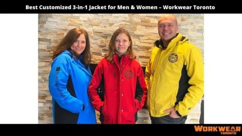 Best Customized 3-in-1 Jacket for Men & Women – Workwear Toronto