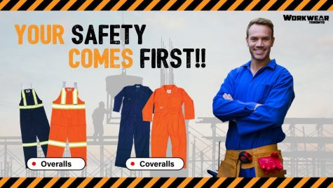 Coveralls and Overalls Decorated With Your Logo - WorkwearToronto.com - Heat Transfer - Screen Printing - Embroidery - Custom clothing near me