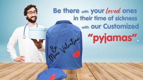 Custom - Designed Pyjamas - Workwear Toronto - WorkwearToronto.com - Heat Transfer - Valentines Day - Custom clothing near me