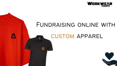 How to create a successful Fundraiser with custom apparel - Custom t shirts in Etobicoke Toronto - Custom Clothing Products with your logo - WorkwearToronto.com