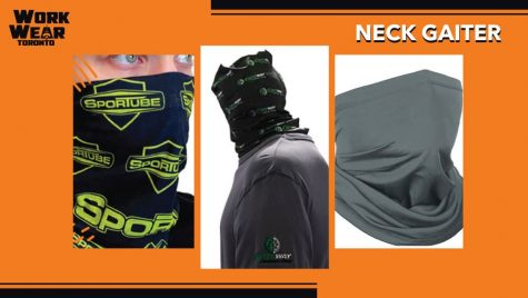 Neck Gaiters with Custom Logo and Designs - WorkwearToronto.com - Custom Clothes - Covid-19 Safety - Face Masks - Cover