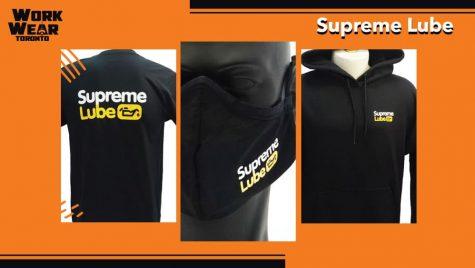 Supreme Lube - T-Shirts - Hoodies - Masks - Custom Logo - WorkwearToronto.com - Best Branding Shop in Toronto - Main
