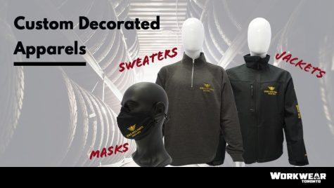 Custom Branded Corporate Apparel - Workwear Toronto - WorkwearToronto.com - Promotional Products