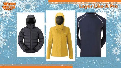 how to layer like a pro - winter clothing - custom logo - WorkwearToronto.com - Best Workwear in GTA