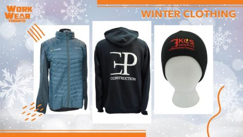 Top 5 Winter Clothing Products - Workwear Toronto - Corporate Apparel - Your Logo - Embroidery