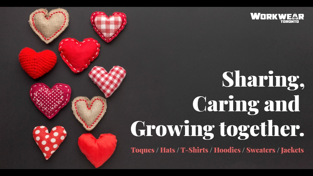 Valentine's Day Special - Custom Branded Corporate Apparel and Promotional Products - Heat Transfer - Screen Printing - Embroidery